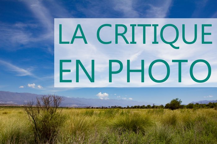 apprenti photographe la critique en photo