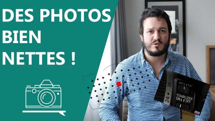 apprenti photographe photo nette net nettete