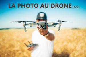 photographe avec son drone