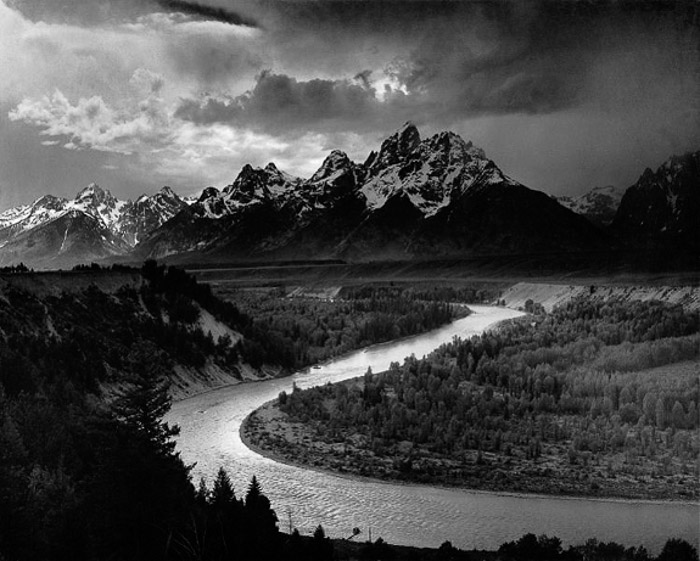 paysage ansel adams